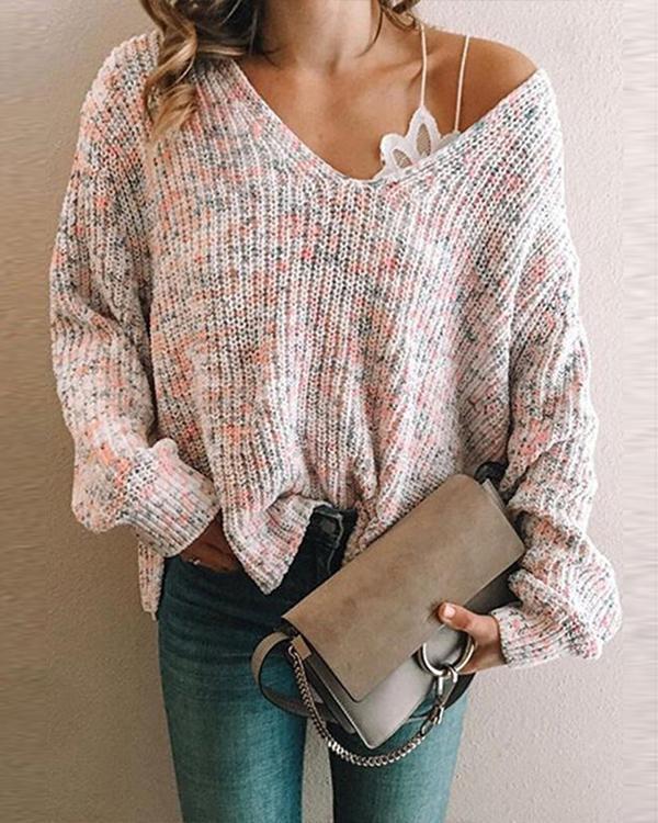 Women's Stylish Sweater Long Sleeve Sweater