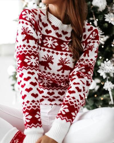 Women Christmas Plus Size Holiday Sweater