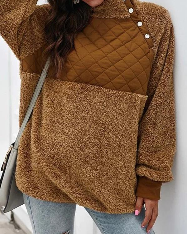Casual Turtleneck Long Sleeve Women's Sweatshirts