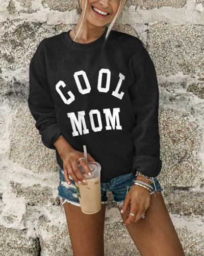 Women's Fashion Letter Print Cozy Sweatshirt(8 Patterns)