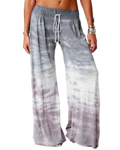 Women's Loose Gradient Pants