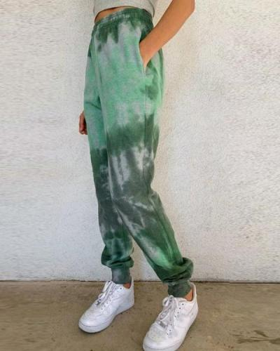 Women's Vintage Tie Dye Sweatpants