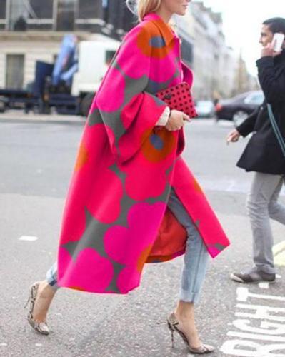 Women Plus Size Winter Long Coat