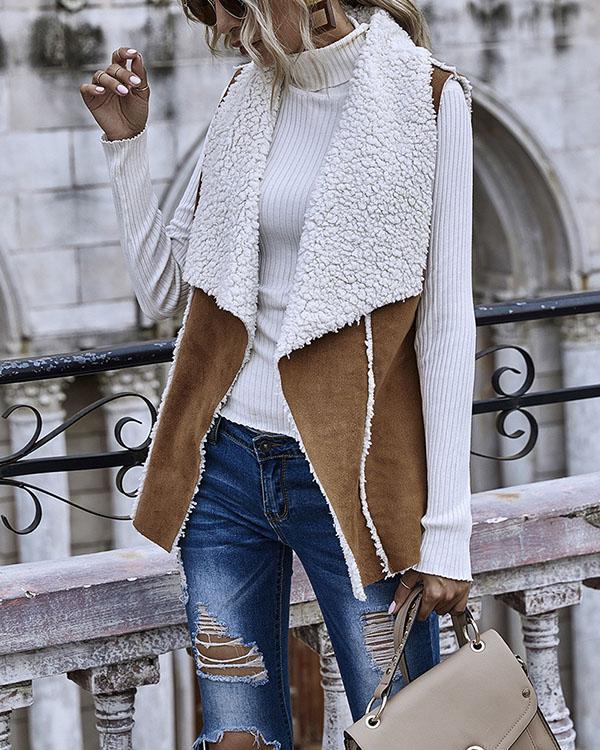 Women Casual Fashion Sleeveless Outerwear