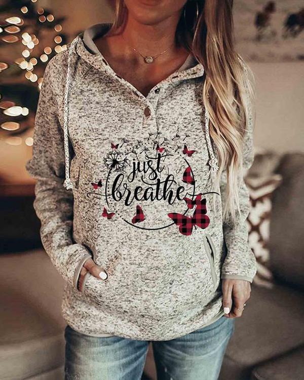 Women Fashion Print Long Sleeves Christmas Sweatshirt(6 Patterns)