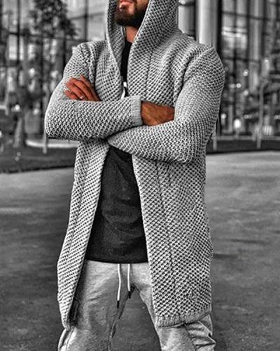 Standard Hooded Hole Winter European Sweater