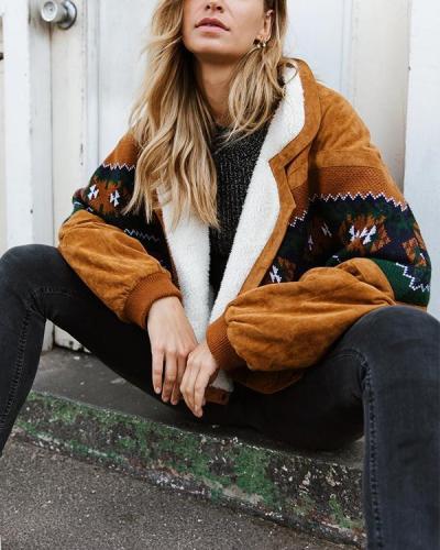 Vintage Brown Cotton Jackets
