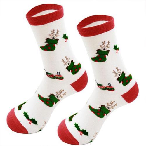 Christmas Print Socks