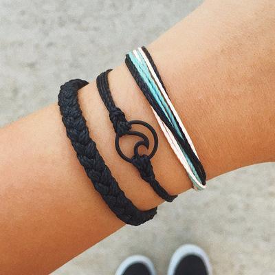 Bohemian Woven Wave Bracelet