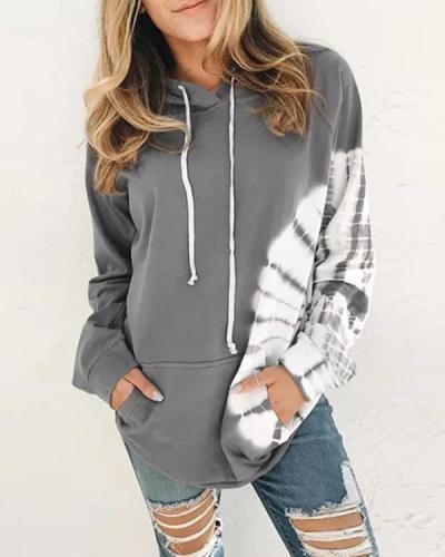 Women Long Sleeve Casual Hooded Sweatshirts