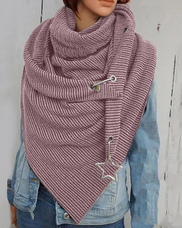 Women Cotton-Blend Casual Scarves & Shawls
