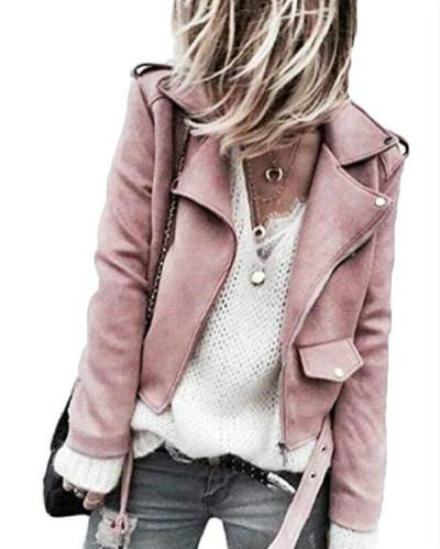 Women Winter Warm Fashion Ladies Sashes Button Solid Zippers Jacket Coat Winter Outwear