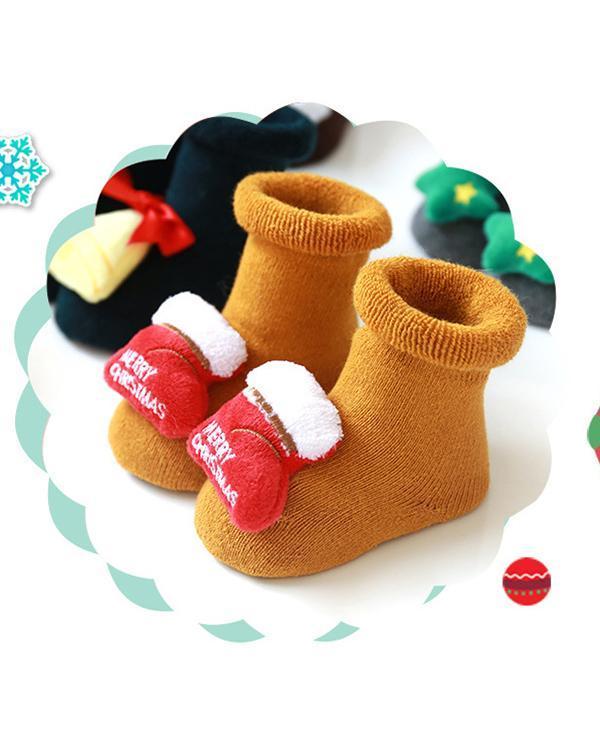 Baby / Toddler Christmas Floor Socks