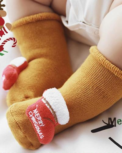 Baby / Toddler Christmas Floor Socks