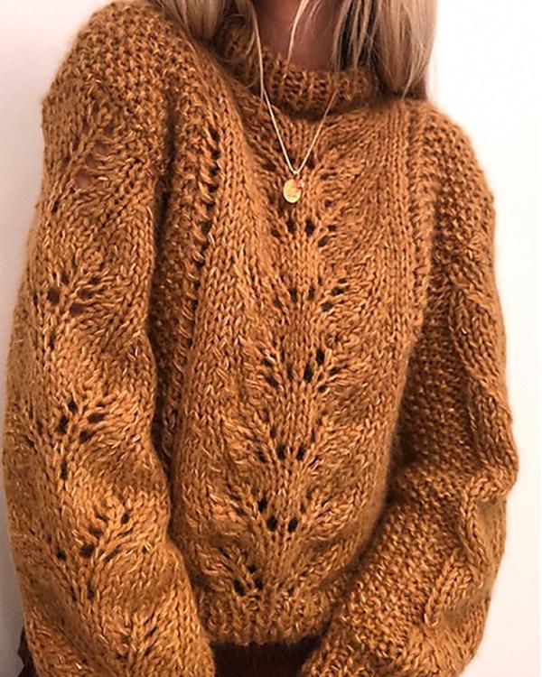 Crochet Sweater Patterns Long Sleeve Chunky Oversized Sweater