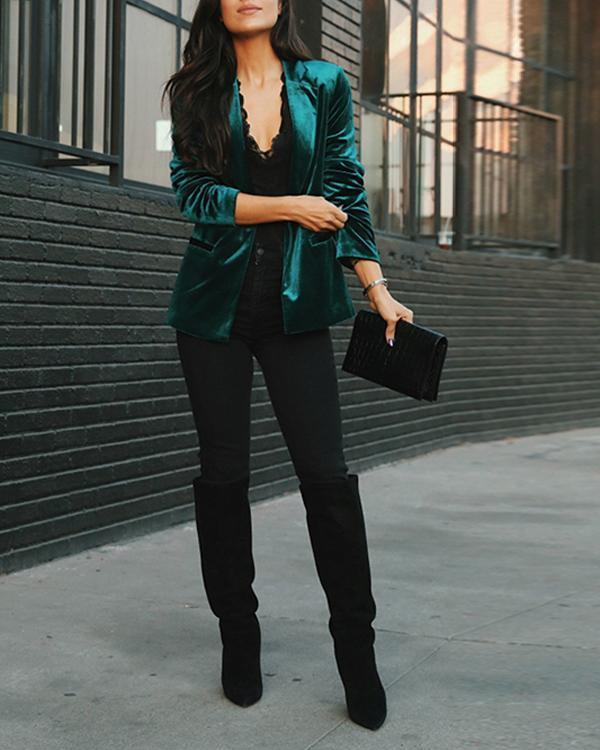 Vintage Velvet  Blazer&Coat
