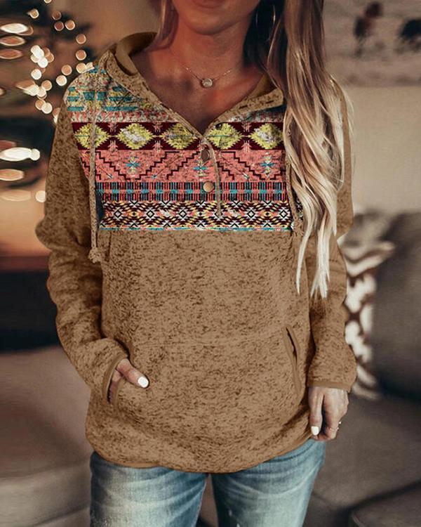 Hoodie Cotton Long Sleeve Casual Sweatshirt