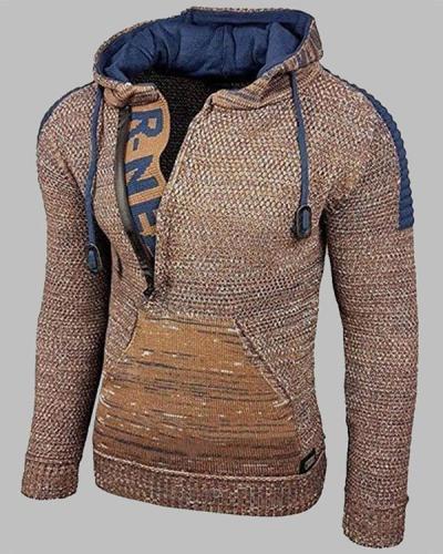 Men's Fashionable Long Sleeve Casual Hoodies