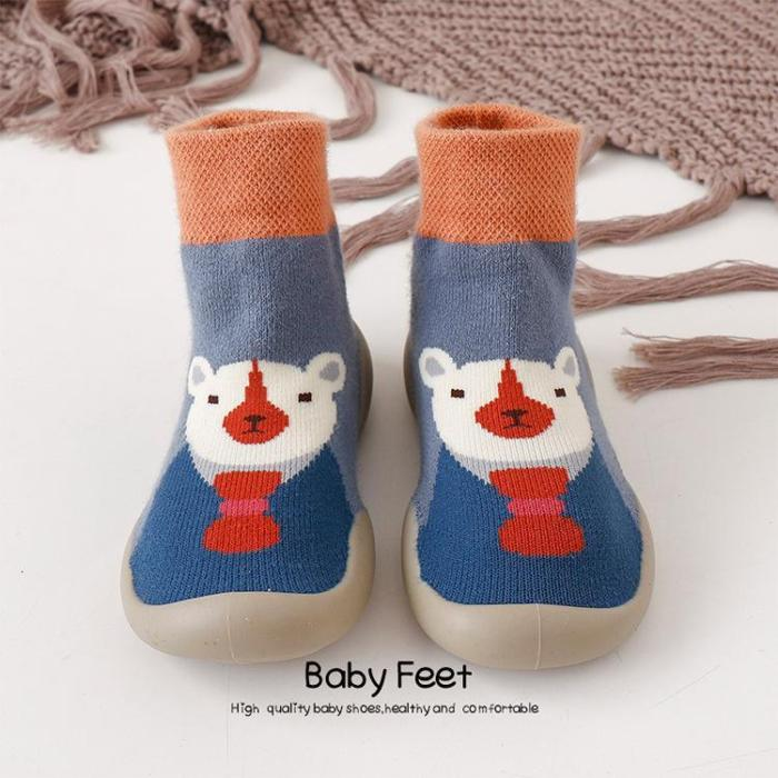 New Autumn And Winter Cartoon Sock Shoes