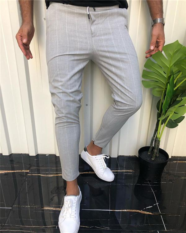 Checked Printed Casual Pants