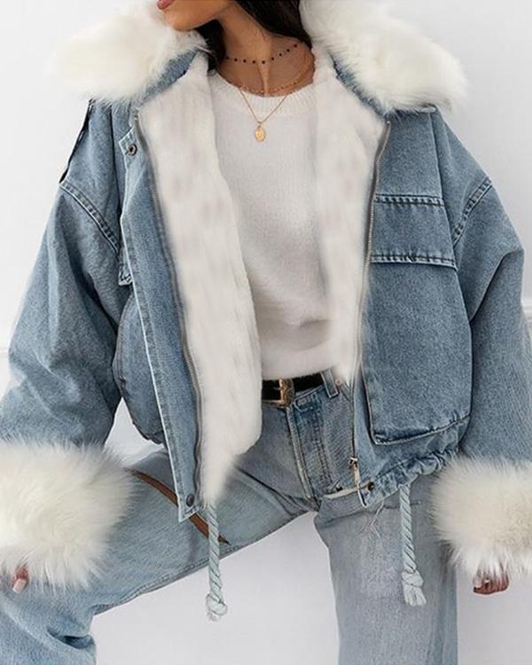 Women Winter Fashion Fur Coats
