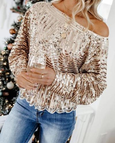 Women Party Long Sleeve Tops