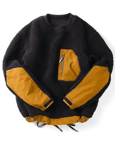 Men's New Style Pocket Fashion Tooling Jacket