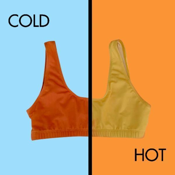 Color-Changing Bikini High Waist Swimsuit