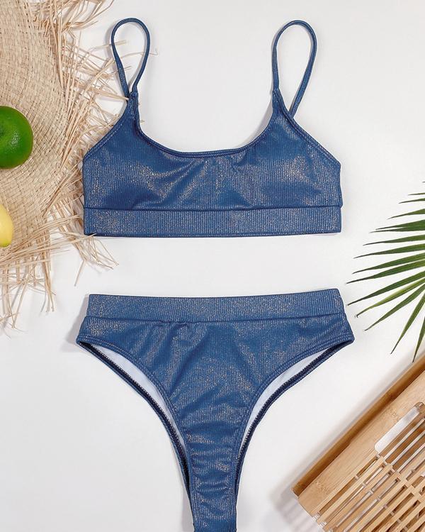 Women's Shining Bikini Swimsuit