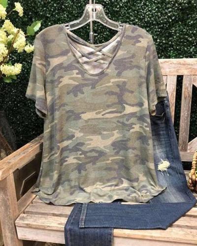 Cotton Short Sleeve Shirts & Tops