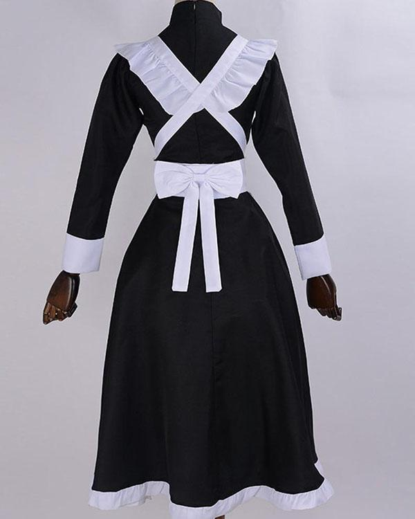 Sexy Cosplay Maid Costume Women French Maid Outfit Dress Role Play Costume
