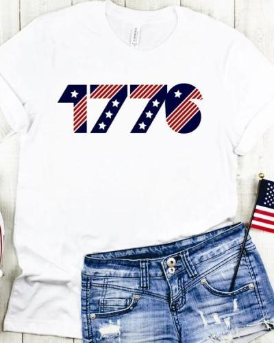4th of July American T-shirt Tees
