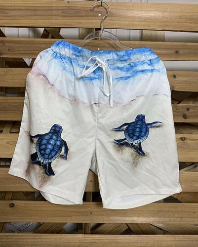 Printed Holiday Animal Pants