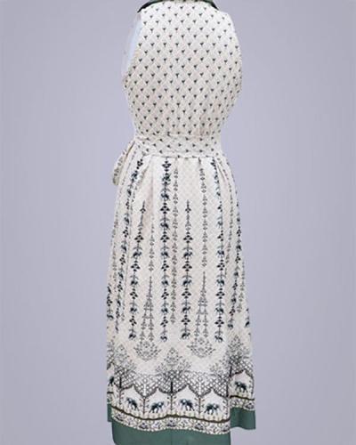 Gorgeous Sleeveless Printed Slim Dress