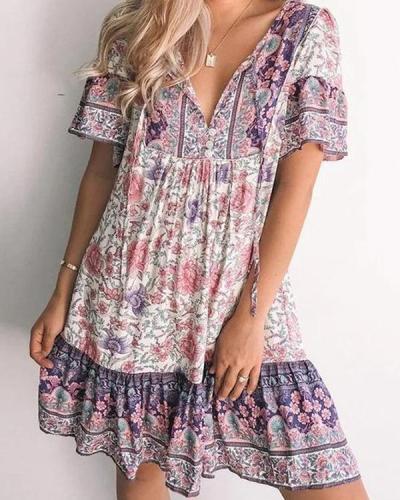 Tribal Cotton Vintage Dresses