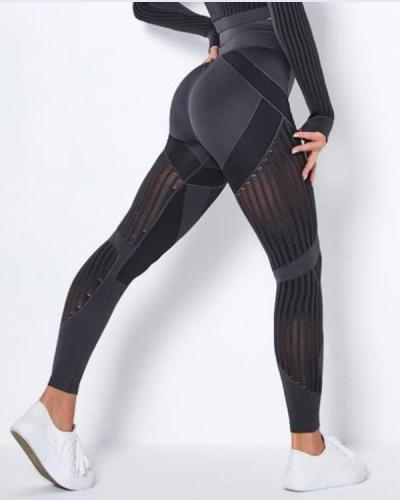 Women Seamless Breathable High Waist Leggings