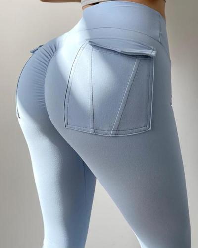 Fashion tight yoga pants