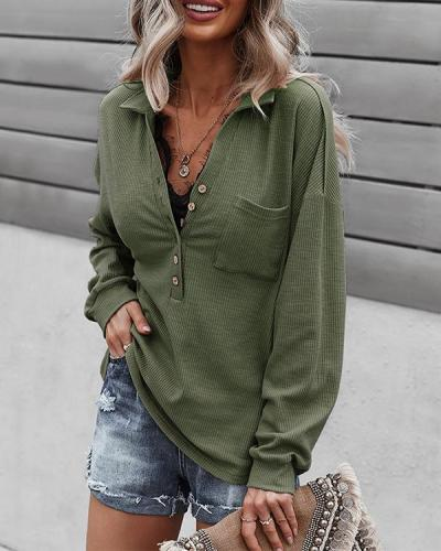 Fashionable And Elegant Long-sleeved Sweater Top