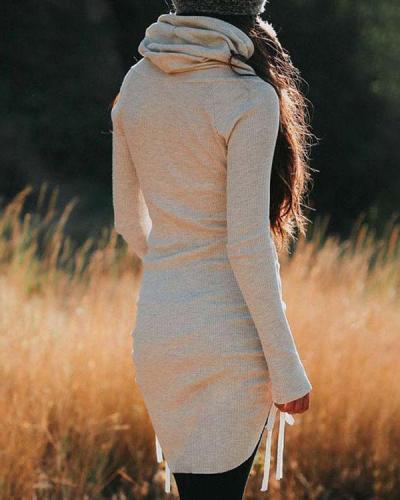 Women's Long Hoodie Top