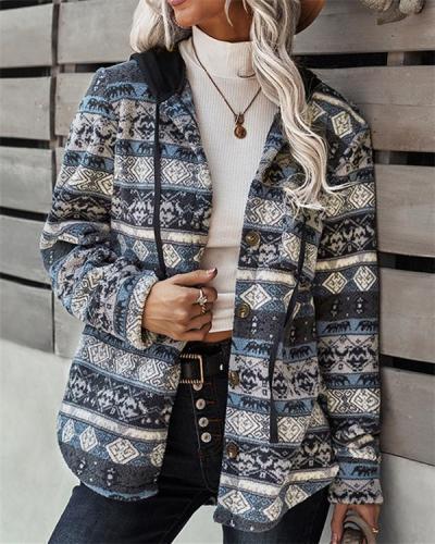Double-sided Fleece Coat Fleece Casual