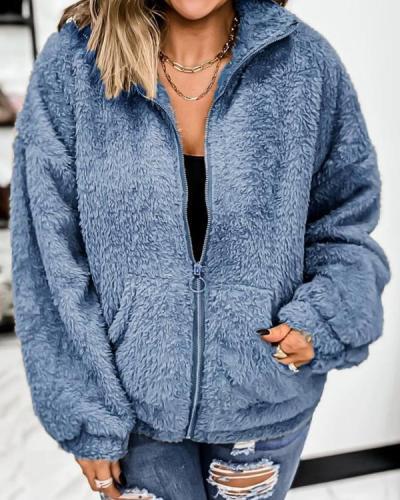 Women's  Fluffy Fleece Coats & Jackets
