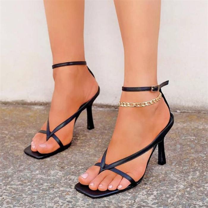 Women High Heel Sandals Slippers