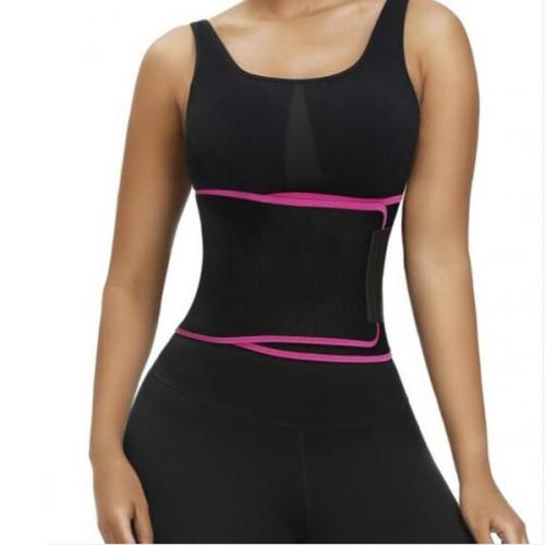 WAIST CONTROL ROSE RED NEOPRENE WAIST TRAINER