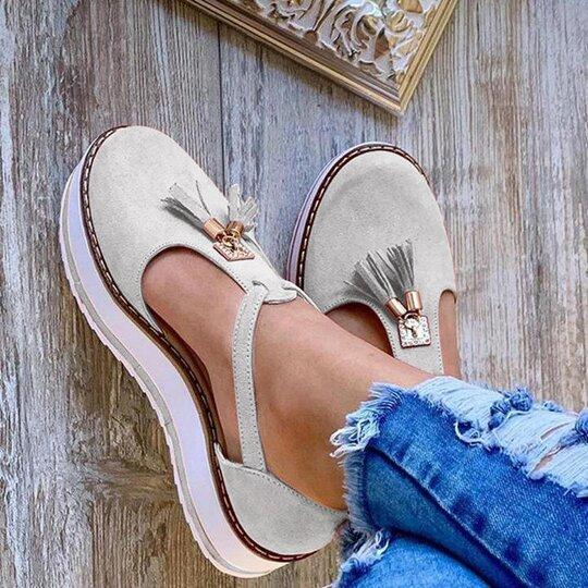 Summer Wedge Suede Plus Size Sandals