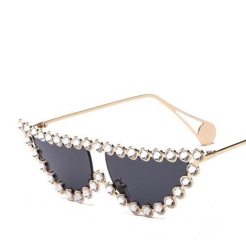 Rhinestone New Style Sunglasses