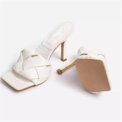 Open Toe High Heel Casual Sandals Slippers