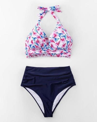 Sun Coast Halter Bikini Set