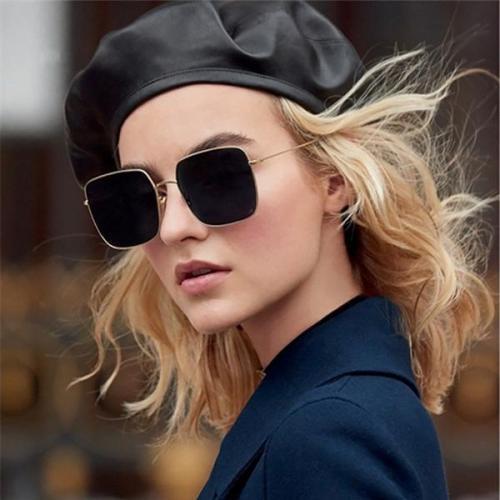 Vintage Resin Square Sunglasses