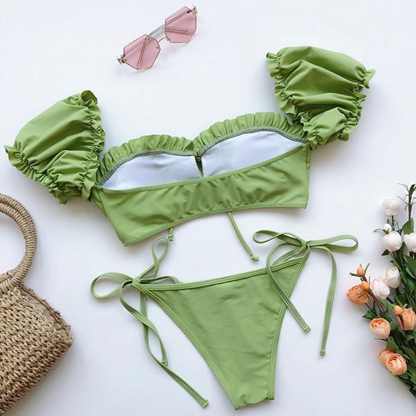 Short Sleeve Bikini Set