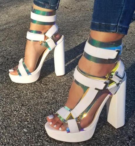 Fashion High Heel Summer Sandals